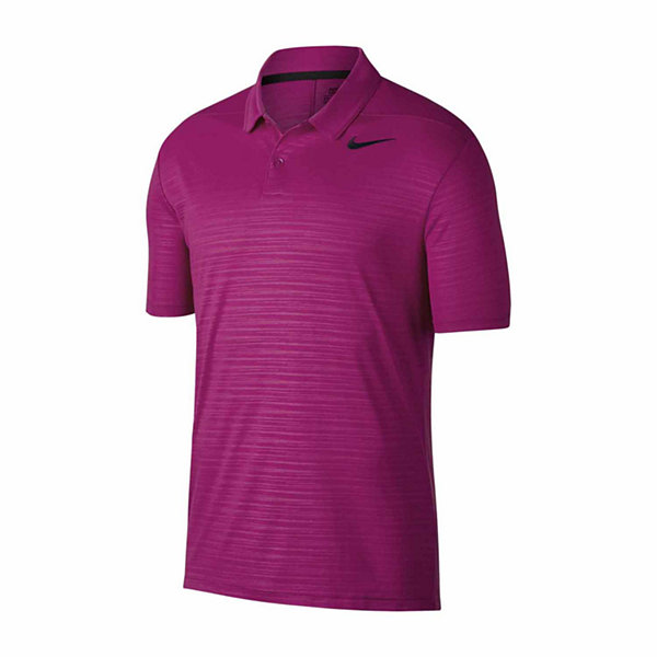 Nike essential short sleeve essential embossed dri fit for Jcpenney ladies polo shirts
