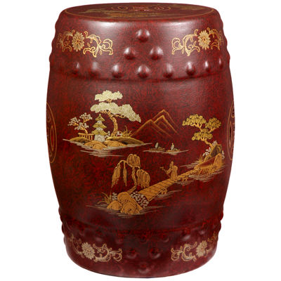 Oriental Furniture Garden Stool Patio Garden Stools