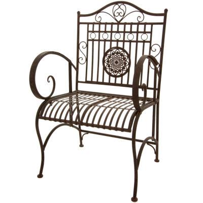 Oriental Furniture Rustic Garden Chair