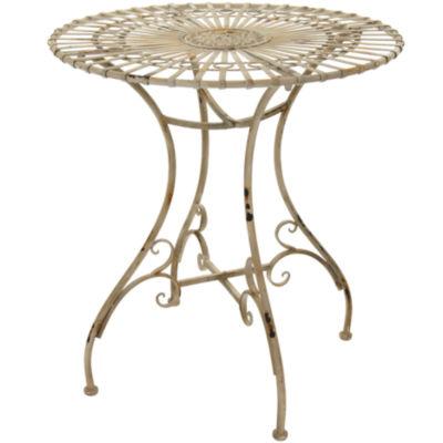Oriental Furniture Rustic Garden Table
