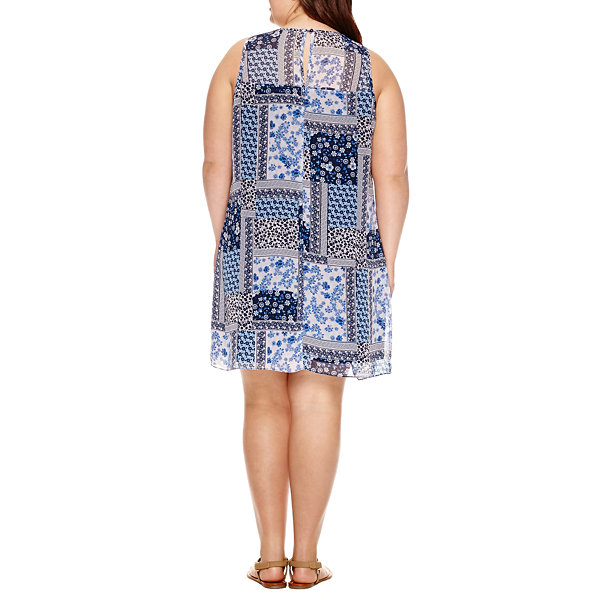 Byer Print Dress - Juniors Plus