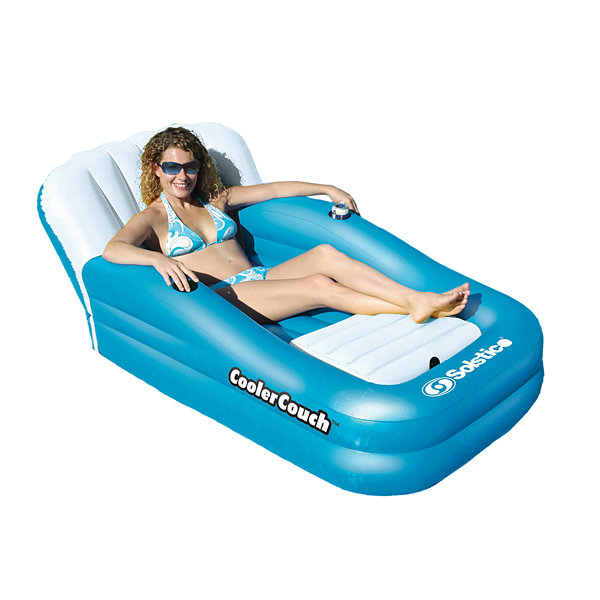 Swimline CoolerCouch Oversized Inflatable Pool Lounger