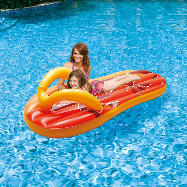Blue Wave Tropical Flip Flop 71-in Inflatable PoolFloat