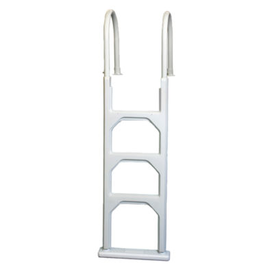 Blue Wave Aluminum/Resin In-Pool Ladder for AboveGround Pools