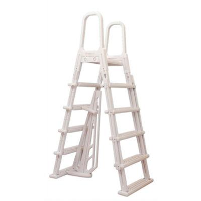 Blue Wave A-Frame Flip Up Ladder for Above GroundPools