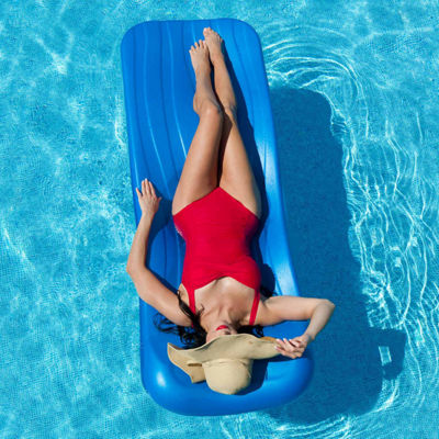 Aqua Cell Deluxe Cool Pool Float - 72-in x 1.75-inThick - Blue