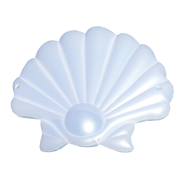 Swimline SeaShell 83-in Inflatable Floating Island