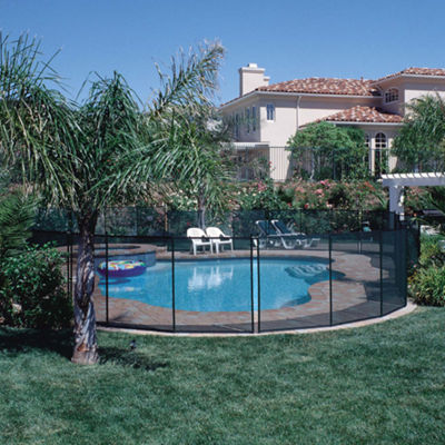 GLI 5-ft x 12-ft Safety Fence for In-Ground Pools