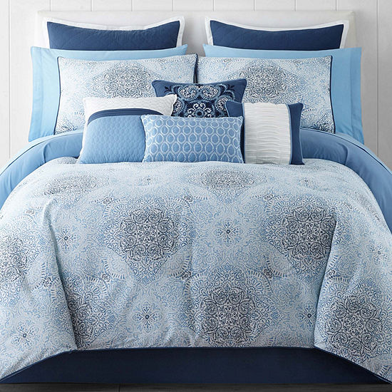 Home Expressions Kinsley 14-pc. Comforter Set