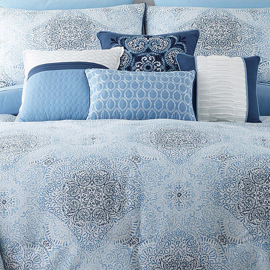 Home Expressions Kinsley 14 Pc Comforter Set