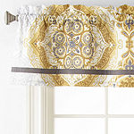 Home Expressions Ariella Rod-Pocket Tailored Valance
