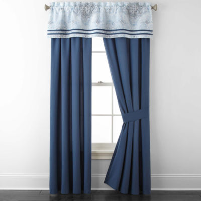 Home Expressions Kinsley Rod-Pocket Curtain Panel