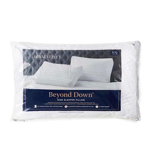 Royal Velvet® Beyond Down® Side Sleeper Pillow