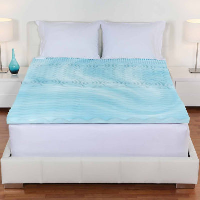"Comfort Wave™ 3"" Orthopedic Foam Mattress Topper"