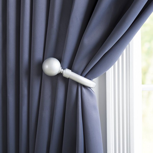 Solid Sphere Curtain Holdback