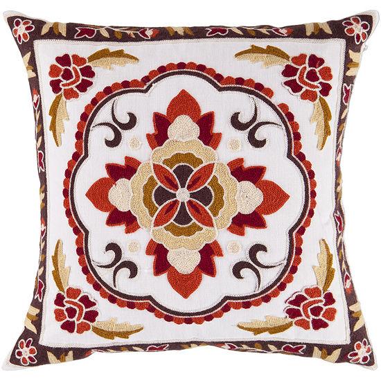 Decor 140 Larnaca Square Throw Pillow