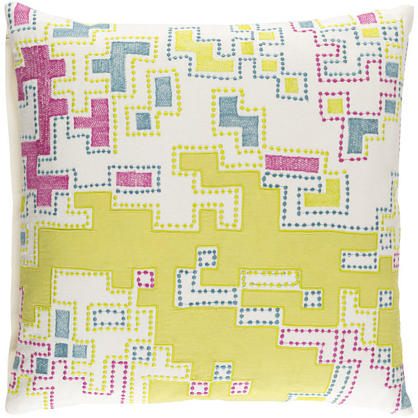 Decor 140 Mecklenburgh Square Throw Pillow