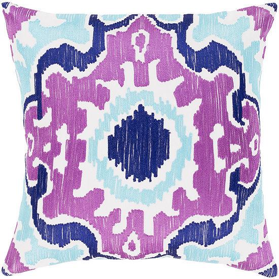 Decor 140 Garis Square Throw Pillow