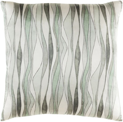 Decor 140 Silk Brydges Square Down Filled Throw Pillow