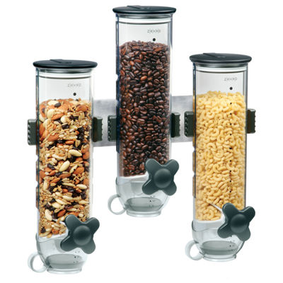 Zevro® SmartSpace™ Edition Wall-Mounted Triple Food Dispenser