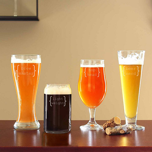 Cathy's Concepts 4-pc. Beer Glass Set