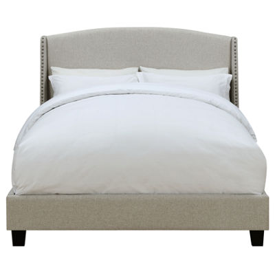 Home Meridian All In One Upholstered Platform Bed