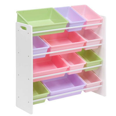 Honey-Can-Do® Kids Toy Room Storage Organizer with Totes