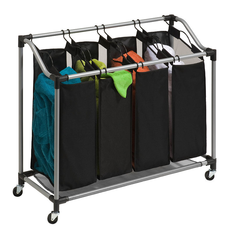 Honey-Can-Do Quad Laundry Sorter with Mesh Bags