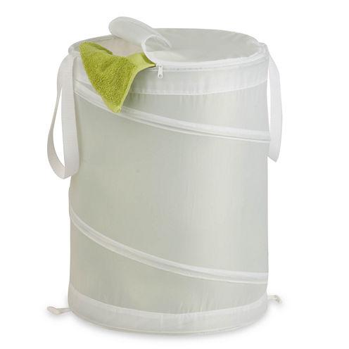 Honey-Can-Do® Medium Nylon Pop-Open Hamper