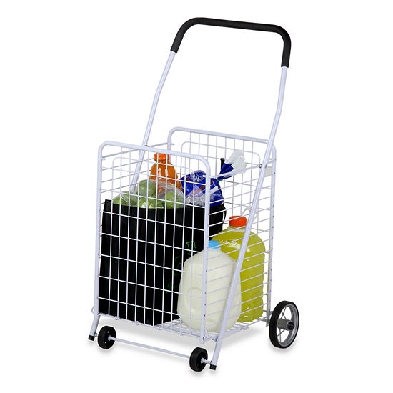 Honey-Can-Do® Jumbo Folding Rolling Utility Cart