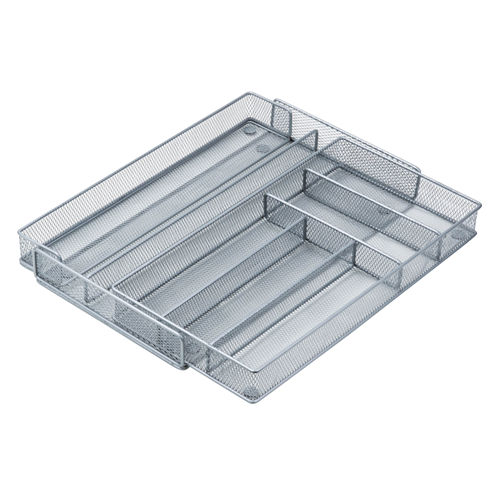 Steel Mesh 7-Compartment Cutlery Tray