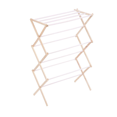 Honey-Can-Do® Accordion Wood Drying Rack