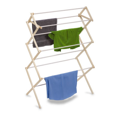 Honey-Can-Do® Large Wood Drying Rack