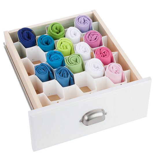 Honey-Can-Do® 32-Compartment Drawer Organizer
