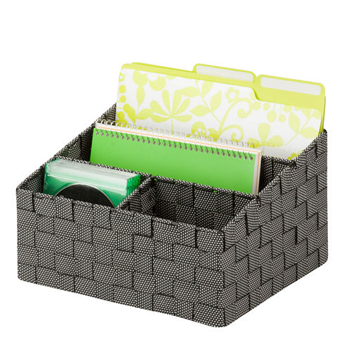 Honey-Can-Do® Woven Mail and File Organizer