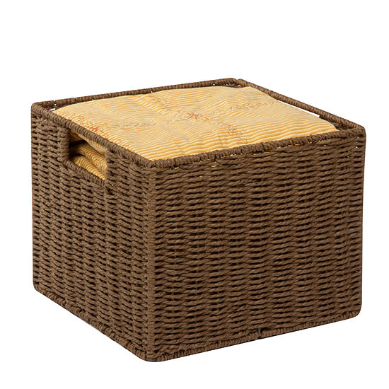 Honey-Can-Do® Paper Rope Crate
