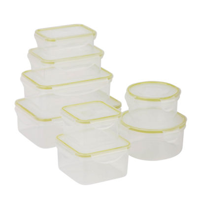 Honey-Can-Do® Snap-Tab 8-pc. Food Storage Set