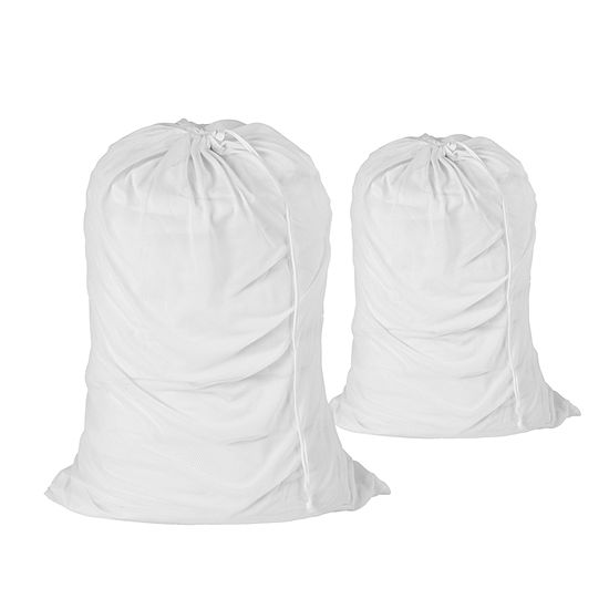 Honey Can Do Set Of 2 Mesh Laundry Bags