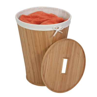 Honey-Can-Do® Nested Bamboo Hamper with Lid