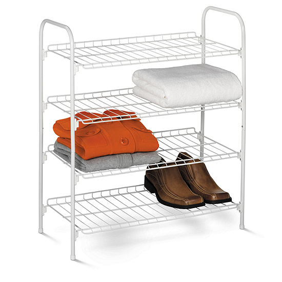 Honey-Can-Do® 4-Tier Wire Storage Shelf