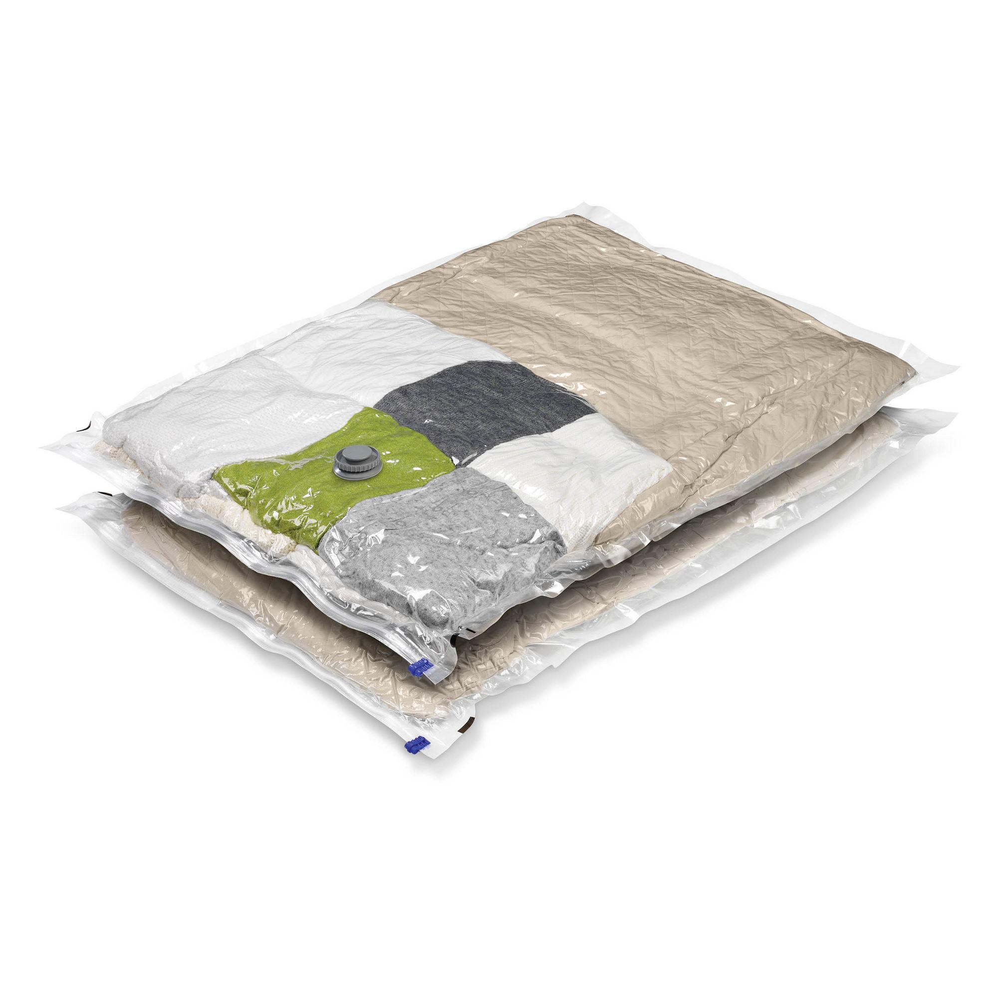 Honey-Can-Do 2-Pack Extra-Large Vacuum-Sealed Clothing Storage Bags
