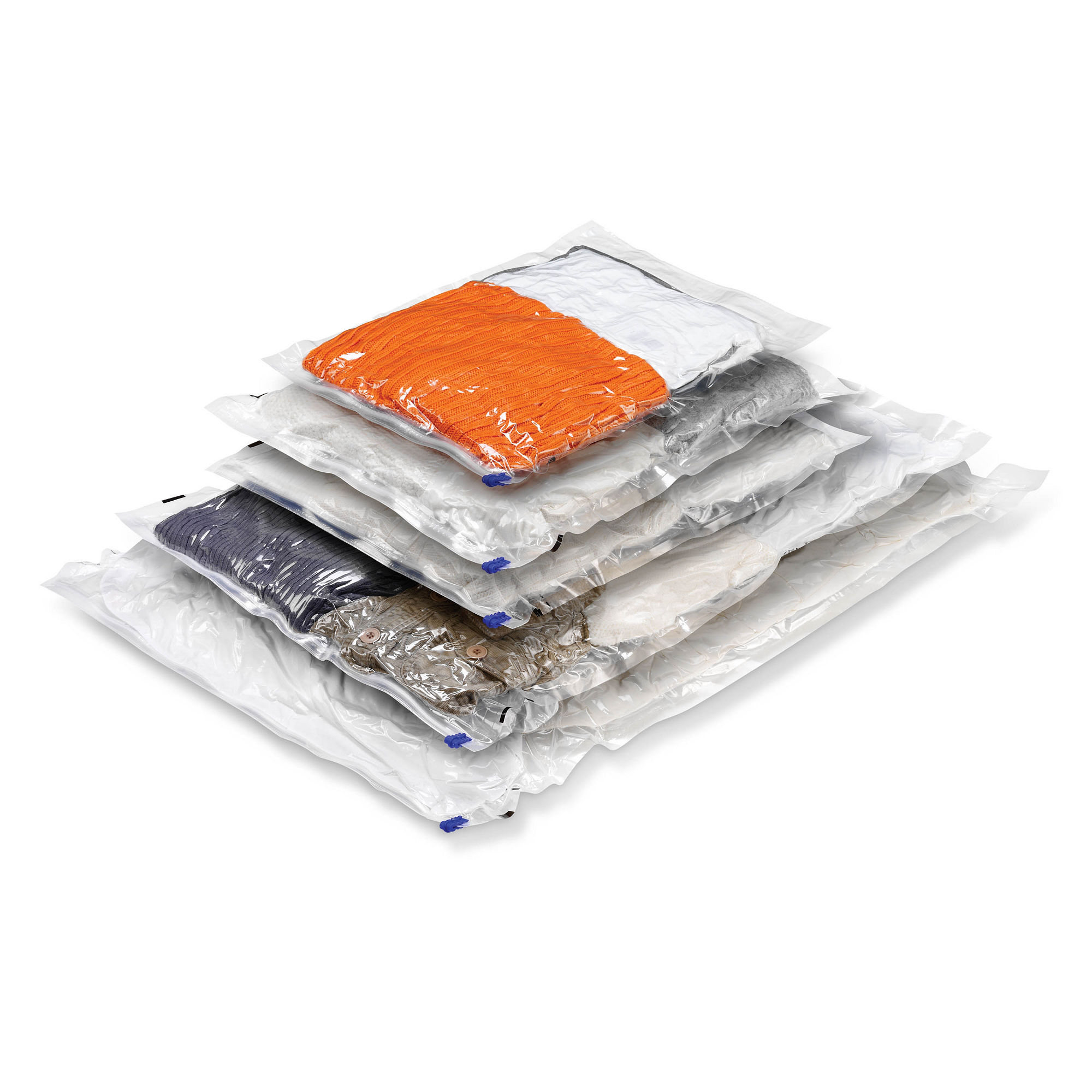Honey-Can-Do 5-Pack Vacuum-Sealed Clothing Storage Bags