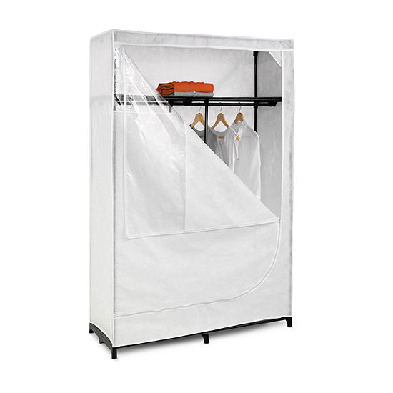 "Honey-Can-Do® 46"" Wide Cloth Wardrobe Storage Closet"