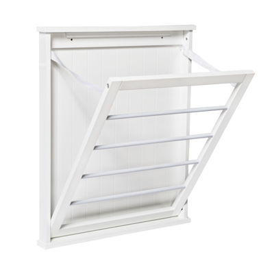 Honey-Can-Do® Single-Wall Mounted Drying Rack