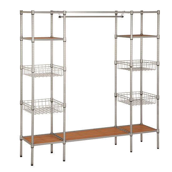 Honey-Can-Do® Freestanding Closet with Shelves