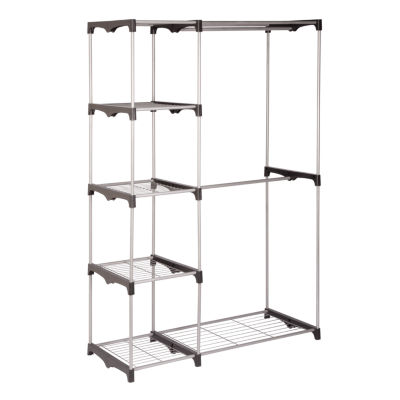 Honey-Can-Do® Double-Rod Freestanding Closet