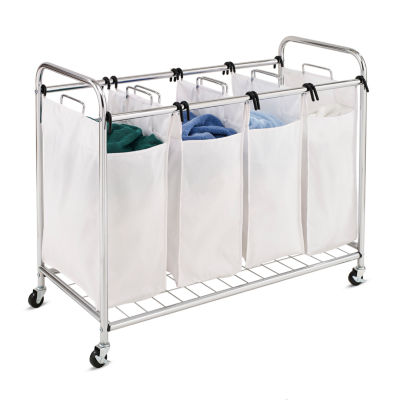 Honey-Can-Do® Heavy Duty Quad Rolling Laundry Sorter Hamper