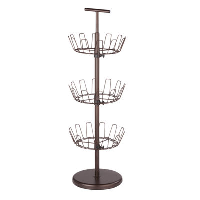 Honey-Can-Do® 3-Tier Revolving Shoe Tree