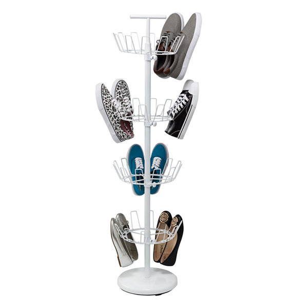 Honey-Can-Do® 4-Tier Revolving Shoe Tree
