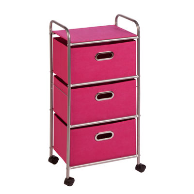 Honey-Can-Do® 3-Drawer Fabric Cart